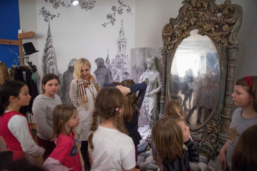 Bei der Cornelia-Funke-Ausstellung gibt es viel zu sehen.