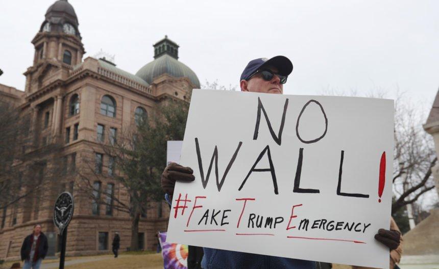 Donald Trump und seine Mauer
