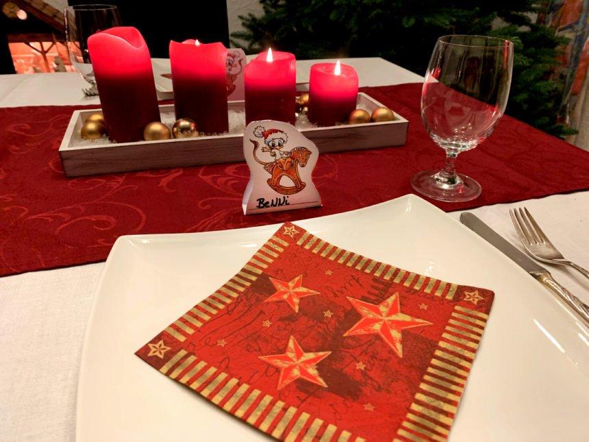 BeNNi-Tischkarte