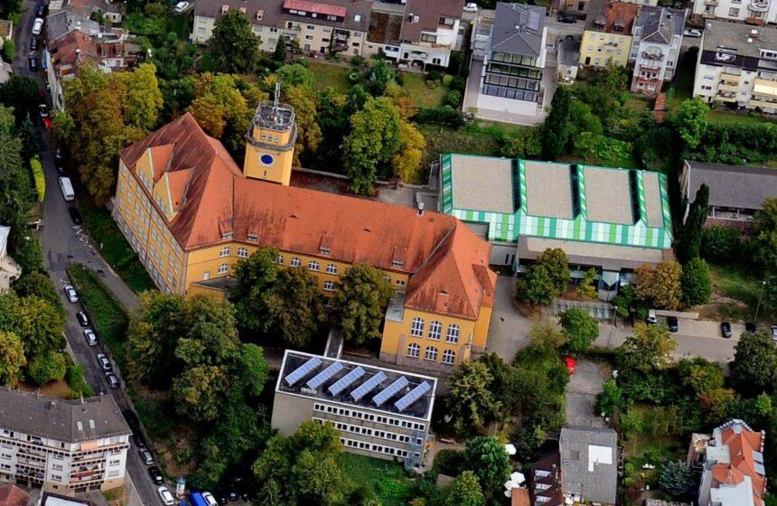 Baden-Baden September 2016 Luftbild Innenstadt Vincentiusgelände Vincentius MLG Markgraf-Ludwig-Gymnasium